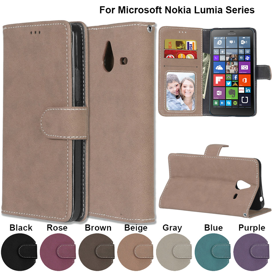 Clothing, Shoes & Accessories Honest Nokia 5 Case Flip Leather Wallet Case For Nokia 3 Nokia 6 Lumia 640 Xl 540 950xl Phone Bag Case For Nokia 5 Lumia 635 540 Cover