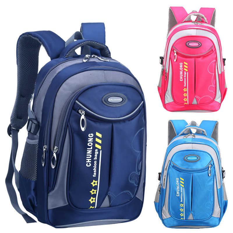 Новые Детские рюкзаки, школьный рюкзак для мальчиков и девочек, водонепроницаемый, детская школьная сумка, ортопедические школьные сумки принцессы