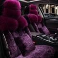 Special fur car seat covers For Suzuki Jimny Grand Vitara 2016 Kizashi Swift Alto SX4 Wagon Palette accessories styling