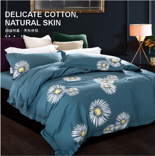 New Design 100 Cotton Chinese Style Flower Bird Plant Poem Fine Embroidery 4pcs Home Wedding Princess Duvet Cover Bed Set B3851 In Bedding Sets From