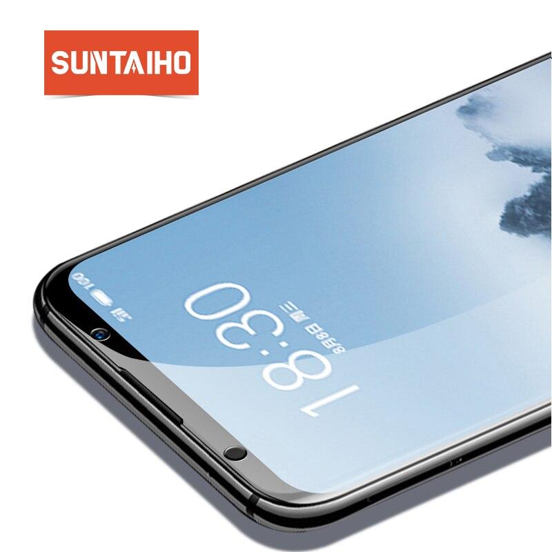 Suntaiho Full Cover Tempered Glass for MEi zu 16th plus 9H Accessories Screen Protector Film for Mei zu A5 E3 Tempered Glass