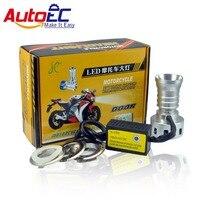 Autoec 1 компл. H1 H4 H7 6000 К Двигатель цикл светодиодный Hi/л луч Универсальный светодиод Двигатель цикл фар двигатель велосипед Фары # MTL001