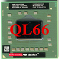 Lifetime warranty Athlon 64 X2 QL66 2.2GHz Dual Core AMQL66 Notebook processors Laptop CPU Socket S1 638 pin Computer Original