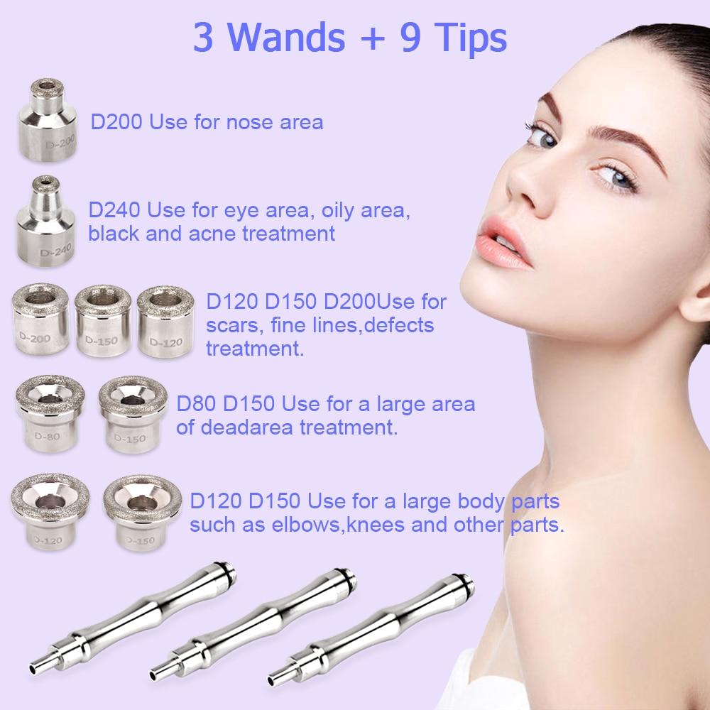 Image 5 - Beauty Star Diamond Microdermabrasion Dermabrasion Machine With Spray Gun Water Spray Vacuum Suction Exfoliation Facial Massage-in Microdermabrasion Peel Machine from Beauty & Health