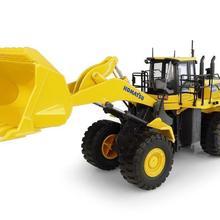 Оригинальная литая под давлением модель 1:50 Масштаб UH8127 Komatsu WA600-8 Колесный погрузчик строительная машина игрушка для украшения, коллекция, подарок