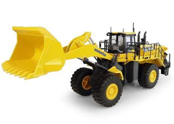 Original Diecast Model 1:50 Scale UH8127 Komatsu WA600-8 Wheel Loader Construction Vehicle Toy for Decoration,Collection,Gift