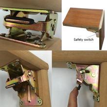 Железные складные шарнирные кронштейны для ножек стола складной блокнот для стола для стула раздвижные столы складные самофиксирующиеся складные петли для ног