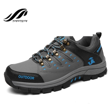 New arrival autumn&winter hiking shoes authentic waterproof men&women shoes antiskid outdoor trekking shoes