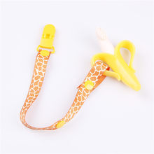 New Baby Pacifier Chain Dummy Clip Nipple Holder Pacifier Clip For Nipples Chupetas Para Children Pacifier Clips Soother Holder(China)