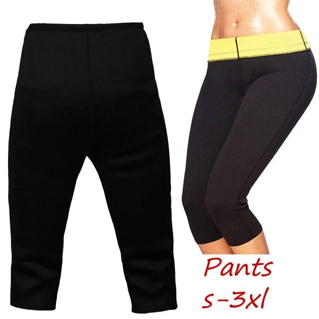 2f74b620f6c46 Hot Body Shaper Pants For Women Sport Yoga Slimming Neoprene Tummy Control  Leggings Sport Accessories Free