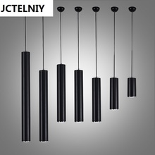 Buy cylinder pendant lights and get free shipping on aliexpress jctelniy modern aluminum brief single led bar pendant light pendant lamp dining aloadofball Image collections