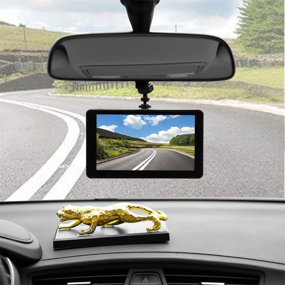 7 Inch Vehicle GPS Pianet Navigation USB Navigators AV-In FM 8GB Smart Bluetooth Truck Car Traveling Data Recorder