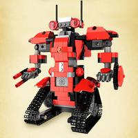 Transformation Serie Building Blocks Set Robot Electric Model For Early Education Children Remote Control Building Block Robots