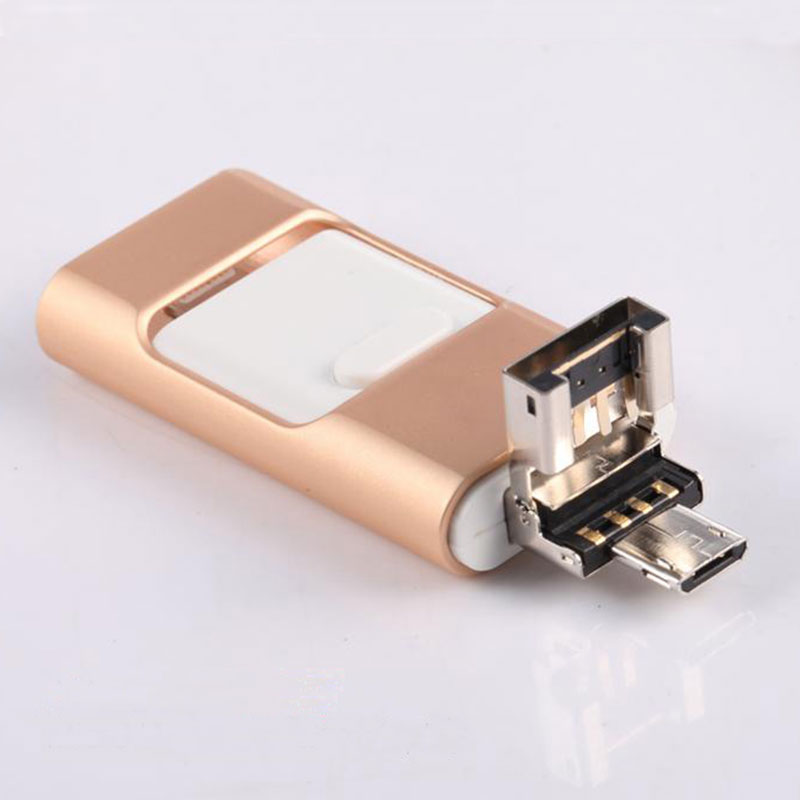 3in1 64GB For iPhone 6 6S Plus 5 5S iPad Pro Air Android OTG Phone Samsung HTC LG HUAWEI USB Drive Memory Stick U Flash Disk android smart watch smartwatch phone x01 plus for ios android iphone 5 5s 6 6 plus 6s 6s plus samsung huawei htc xiaomi lenovo