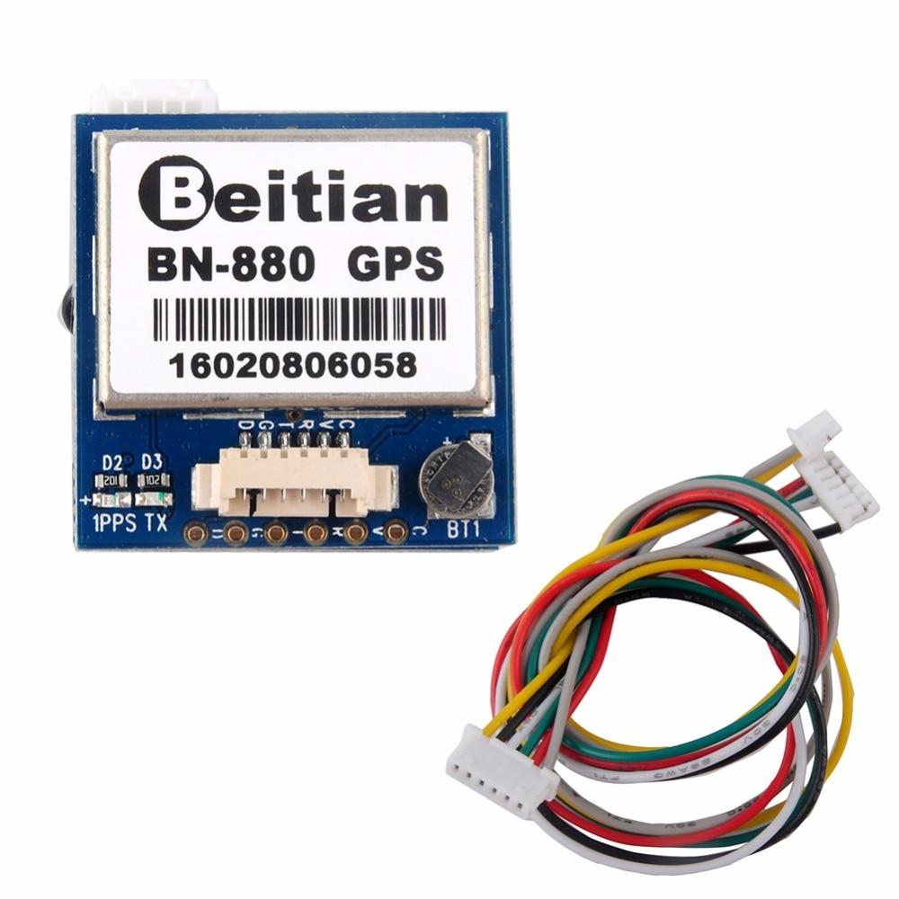 Beitian BN-880 GPS Module U8 For Pixhawk APM Flight Controller HMC5883 Compass Support GPS GLONASS BeiDou RCmall FZ2920 crius u blox neo 6 v3 1 gps module gps radio set module for mwc multiwii se lite apm pixhawk flight controller