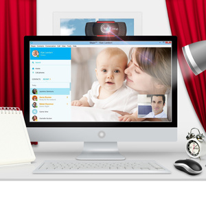 Image 3 - HXSJ Original S20 PC Camera 640X480 Video Record HD Webcam Web Camera With MIC Clip on For Computer For PC Laptop Skype MSN