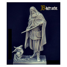 1/20 85mm Ancient samurai and crow 85mm Historical toy Resin Model Miniature Kit unassembly Unpainted(China)