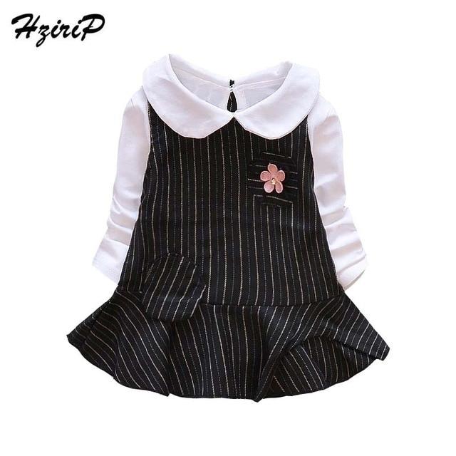 59769b83268cd US $20.04 |HziriP 2017 New Autumn Fashion Toddler Girl Dress Cotton Long  Sleeve Kids Stripe Stitching Dresses Flowers Baby Girl Clothing-in Dresses  ...