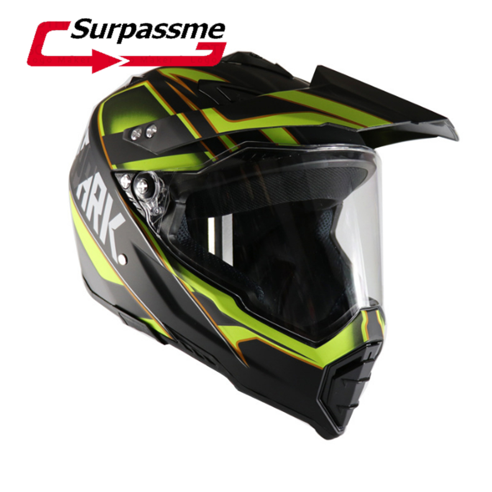 2018 Professional Racing Motocross Helmet Casque hors route Casque Moto Capacete Moto Casco Off-road Helmet turbulent vortex flames