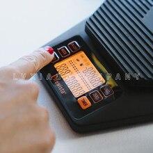 Портативные электронные весы с таймером 2 кг/0,1 г Brewista stainlesssteel поверхностный пластиковый лоток с водяным порошком соотношение USB кабель для зарядки