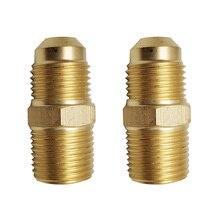 LPG propane 3/8NPT thread brass connector