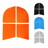 Kayak 4 Pieces EVA Foam Dog Traction Pad Deck Grip Mat Tail Pad For SUP Surfboard