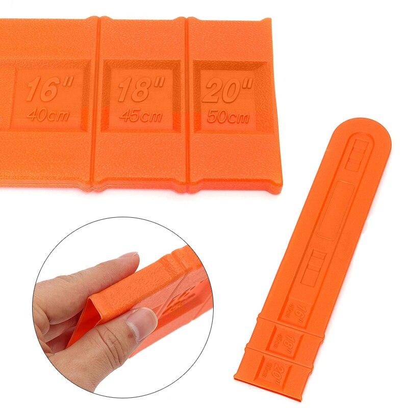 16'' 18'' 20'' Orange Chainsaw Bar Cover Scabbard Universal Guide Plate