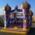 Saltando castillo hinchable castillo inflable puente inflables para los niños el envío libre