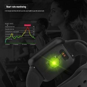 Image 2 - 2019 Men Women Waterproof T80 Smart Watch Bluetooth Smartwatch Heart Rate Monitor Fitness Tracker pk P70 P68 Plus P80 B57