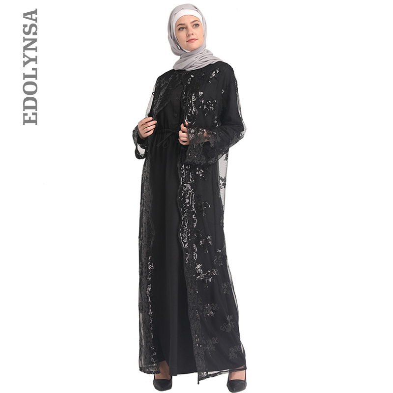 Model Baju Renda Abaya 14