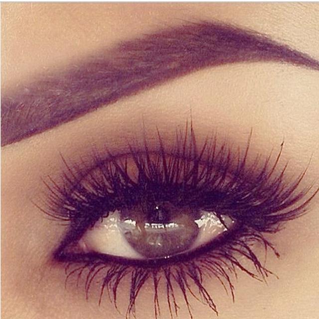 Natural Long Black False Eyelash Extension Strip Lashes J B C Curl