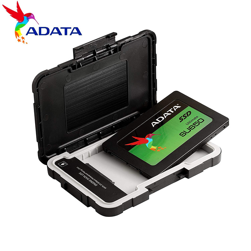 ADATA HDD Case HD 2.5 Inch SATA To USB 3.1 Adapter Hard Drive Enclosure For SSD Disk HDD Box Case HD External HDD Enclosure