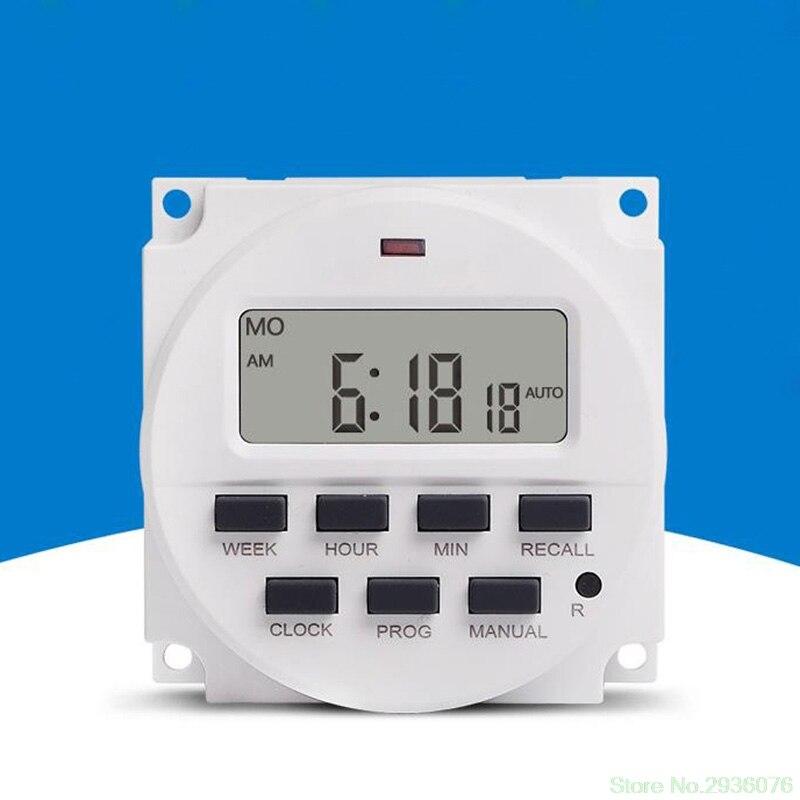 Messung Und Analyse Instrumente Angemessen 15,98 Zoll Lcd Digital Timer 220 V Ac 7 Tage Programmierbare Zeit Schalter Tm618n-2 Werkzeuge