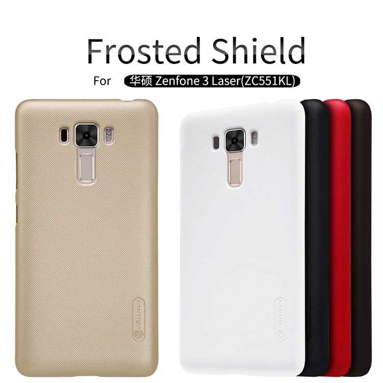 """Asus Zenfone 3 Laser ZC551KL cover Case NILLKIN Super Frosted Shield matte hard back cover case for Zenfone 3 Laser ZC551KL 5.5"""""""