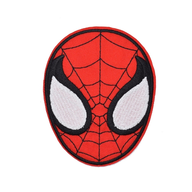 retro superhero amazing spiderman spider man face logo gift animated rh aliexpress com