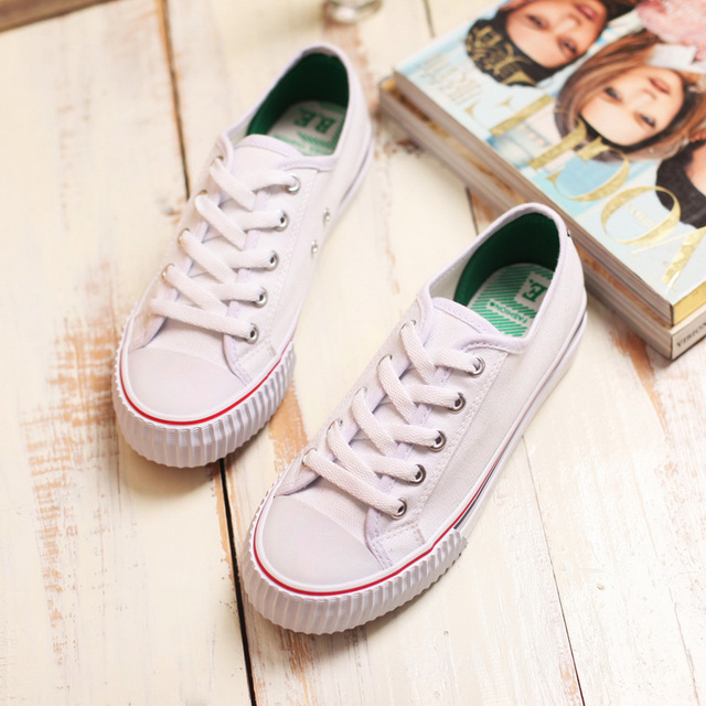 2016 summer new fashion shoes flat canvas women shoes all-match cotton-made shoes flat white casual shoes