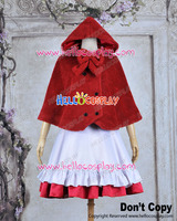 Vocaloid 2 Cosplay Gumi Little Red Riding Hood Costume H008