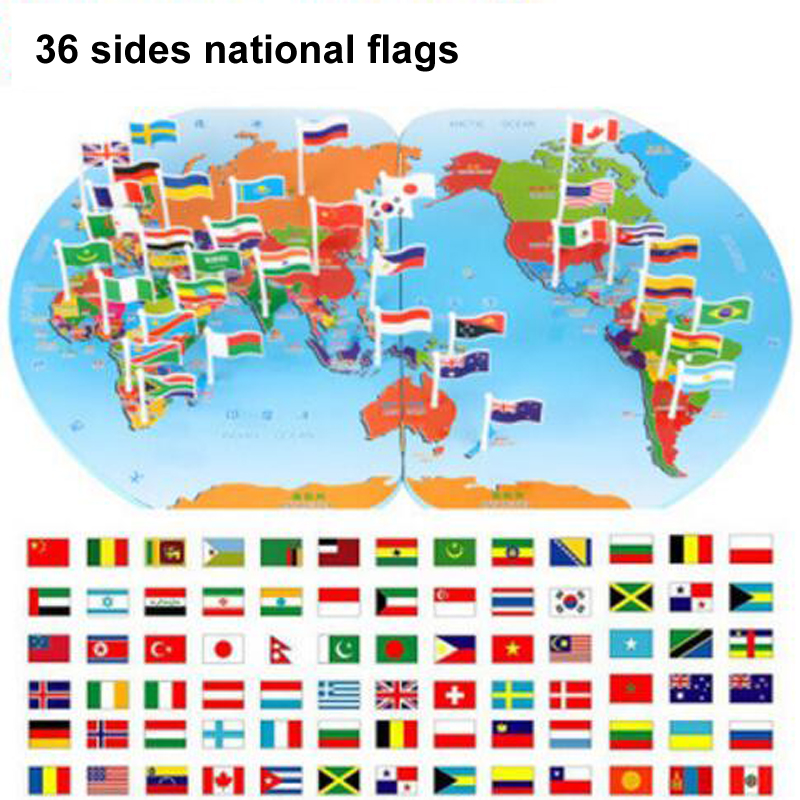 Educational baby kids 3d toys wooden building blocks world map educational baby kids 3d toys wooden building blocks world map national flag blocks creative kids intelligence baby toysgift in blocks from toys hobbies gumiabroncs Choice Image