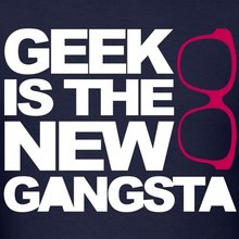 Geek is the new Gangsta Men's T-Shirt