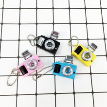 Doll Accessories Camera Toy Kid Toys Children Cameras Projection Luminous Sound Glowing Pendant Keychain Toy Cameras for1/6 Doll(China)
