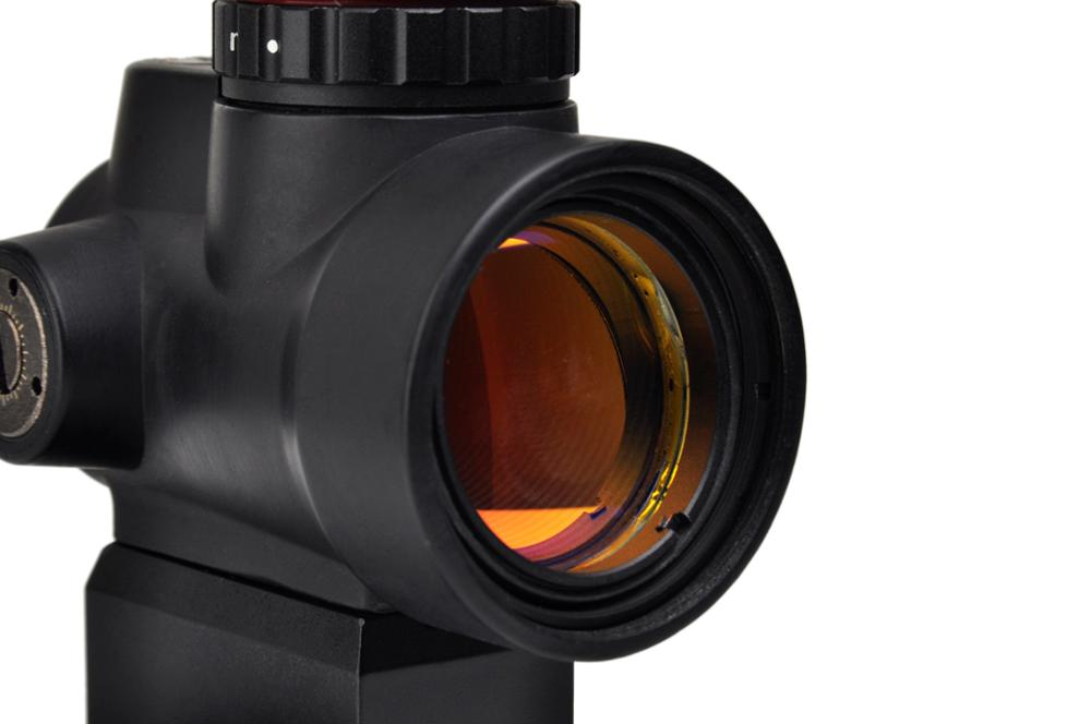 MRO Red Dot Sight 2 MOA AR Tactical Optic Trijicon Hunting Scopes With Low and Ultra High QD Mount fit 20mm Rail image