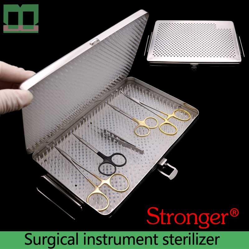 Chirurgisch instrument sterilisator rvs Oogheelkundige chirurgische instrumenten en gereedschappen zijn gesteriliseerde Medische desinfectie doos-in Ooglid Hulpmiddel van Schoonheid op AliExpress - 11.11_Dubbel 11Vrijgezellendag 1