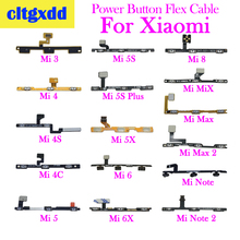 cltgxdd For Xiaomi 3 4S 4C 5S 5Splus 5X 6 6X 8 Volume Button Power Switch On Off Button Key Flex Cable For Xiaomi Mix Max2 Note on off power flex cable for iphone 4s