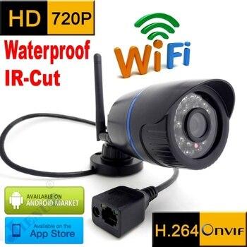 720 p Wifi HD Водонепроницаемая наружная система видеонаблюдения инфракрасная система видеонаблюдения
