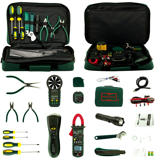 MASTECH Electrician Kit MS5902 MS8233B MS2008A MS6906 clamp multimeter tester цена