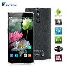 Oneplus one teléfono celular quad core 13mp 3g ram 64g rom android 5.0 teléfono móvil 5.5 pulgadas 4g lte smartphone