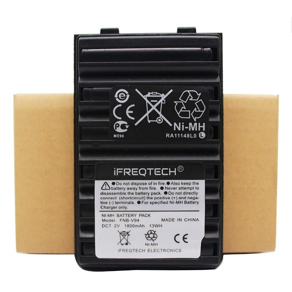 FNB-V94 FNB-83 Ni-MH Battery For Yaesu FT-270R FT-60R Vertex VX-160 VX-168 VX-180 VX-210 VXA-220 VX-414 VX-417 HX-370S HX-270