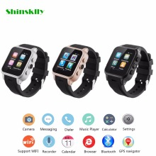 PW308 Bluetooth Smart Watch 1.54 inch Supports SIM Card Reminder Calls for Android 3G WiFi Camera Fitness Tracker