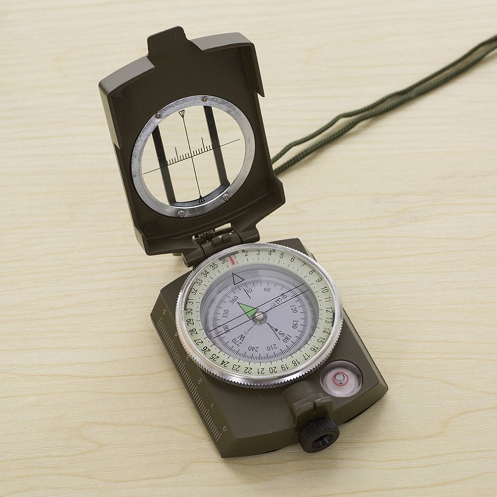 Luminous Outdoor Waterproof Compass Survival Emergency Geological Digital Luminous Compass Hiking Camping Hunting Equipment