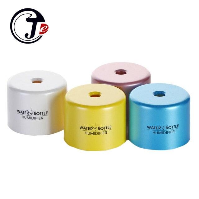 USB мини-увлажнитель бутылку Шапки аромат Воздухоочистители ультразвуковой Увлажнители воздуха Арома диффузор Mist чайник Fogger для дома ABS 5 В 2 Вт